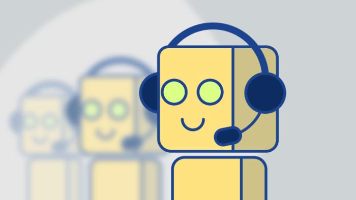 robot llamada
