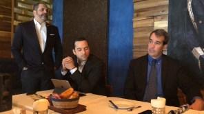 Franklin Guerrero, Miguel Ariza y Manuel González