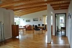 Sala d'estar de l'alberg de Laugarvant