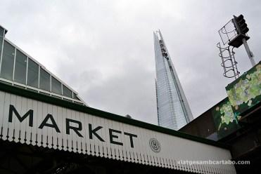 The Shard des de Borough Market