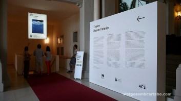 Visites a l'accés de l'exposició