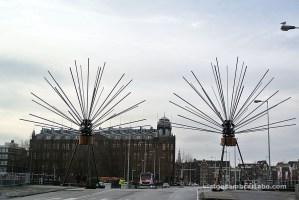 Instal·lació de l'Amsterdam light Festival
