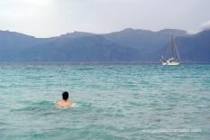 Platja de Lotu nadant