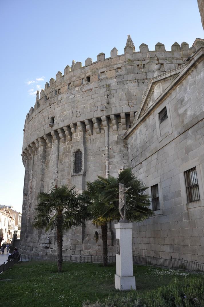 Absis de la Catedral d'Àvila