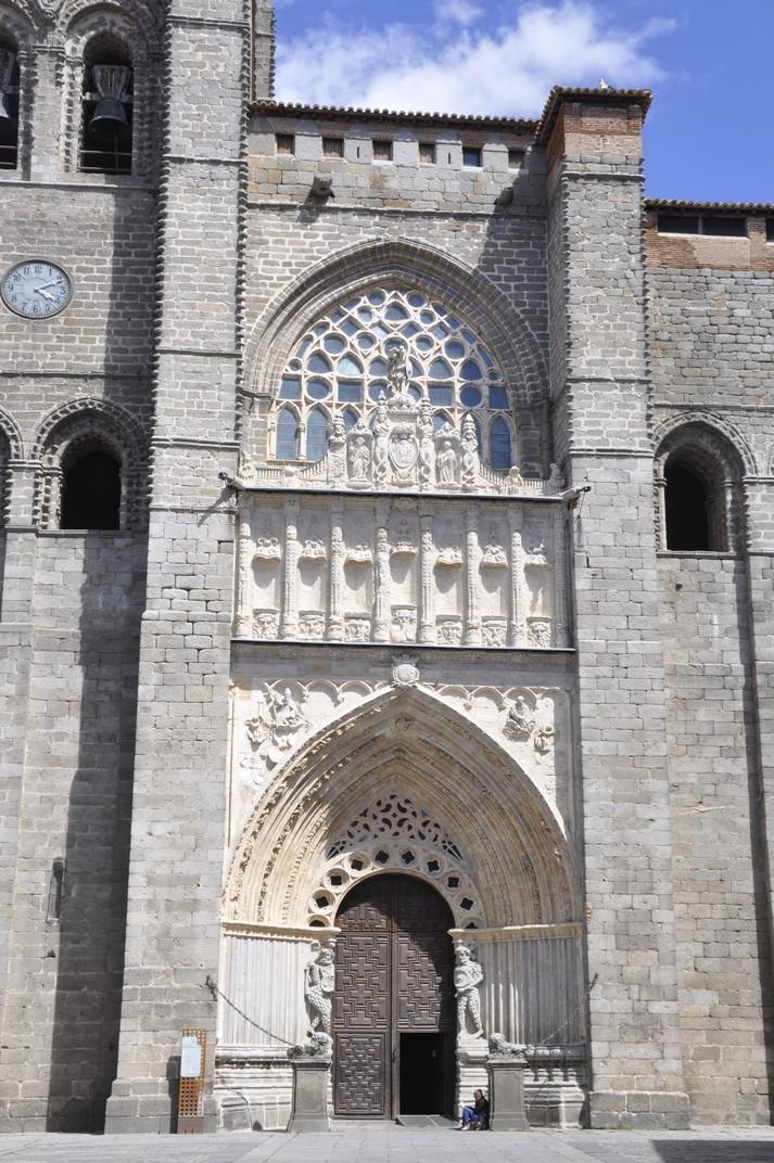 Portalada principal de la Catedral d'Àvila