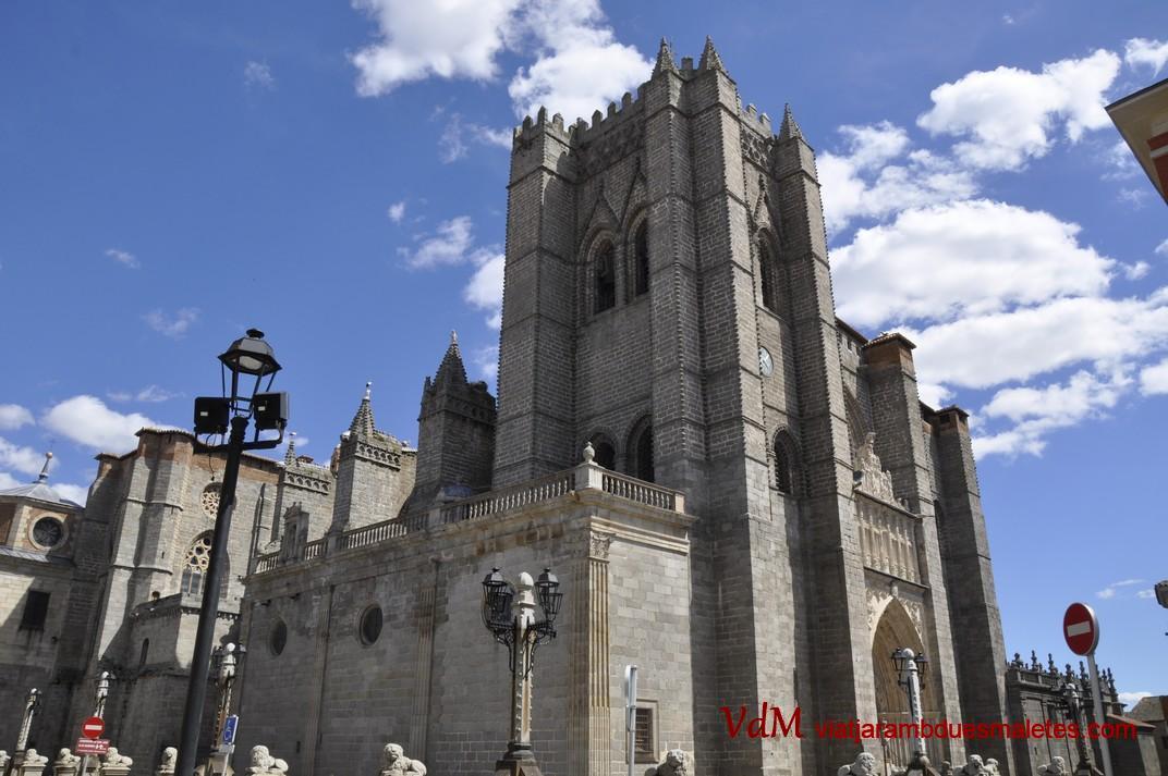 Torre campanar de la Catedral d'Àvila