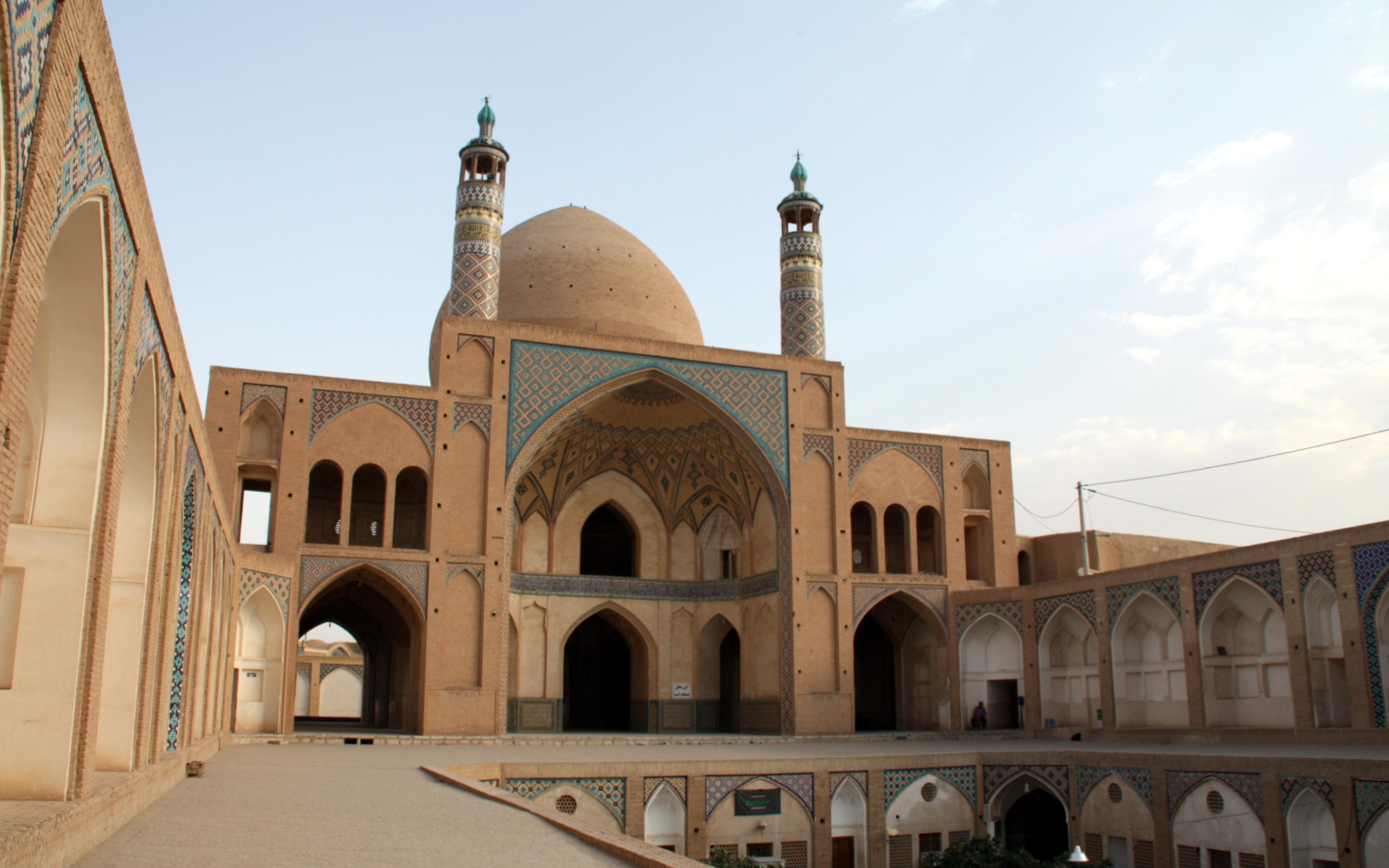 2016-07-20 (mesquita Agha Bozorg de Kashan)