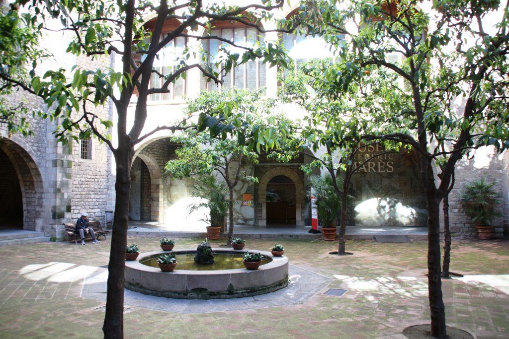 Pati del Museu Frederic Marès