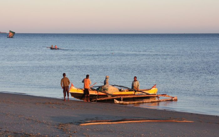 Pescadors a Morombé