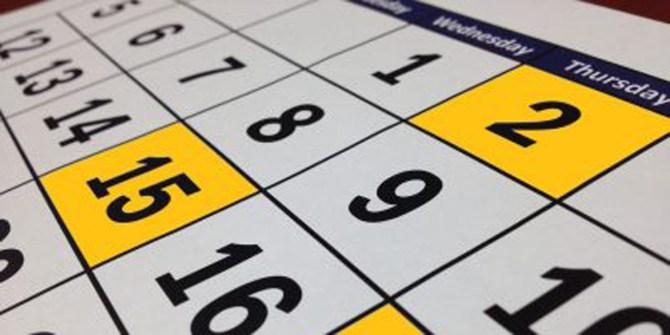 Kalender close up