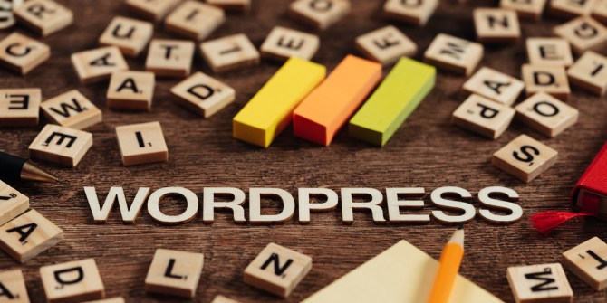 WordPress scrabble