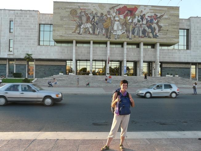 mosaic comunista de Tirana