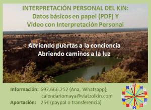 Interpretación kin personal febrero 2016