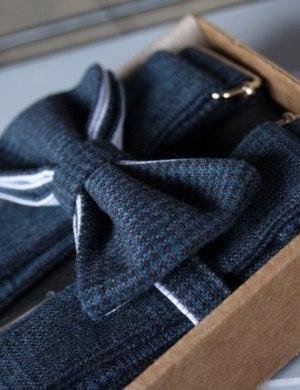 Подтяжки и галстук-бабочка