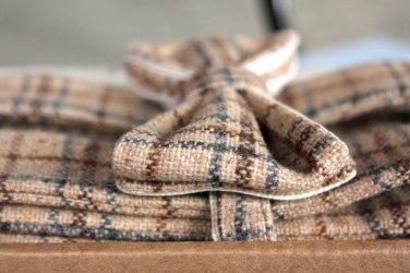 Bow tie and suspenders tweed