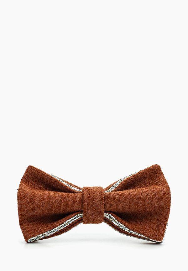 галстук-бабочка терракотовый, bow tie, свадебный галстук. бабочка на свадьбу