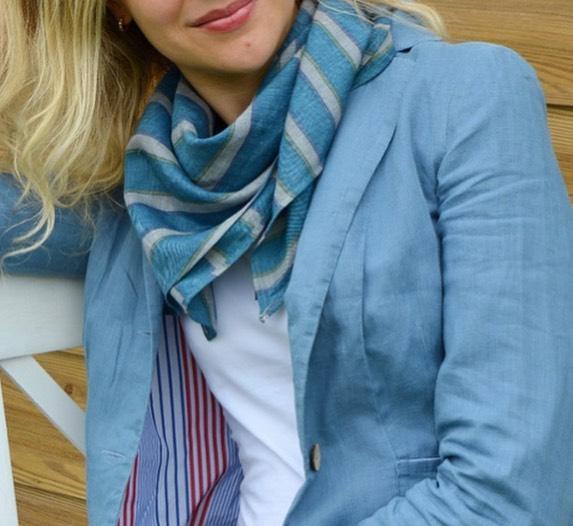 шейный платок, женский