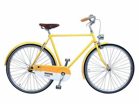 Pantone bikes_mustard