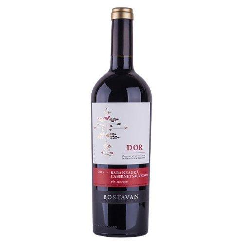 DOR Rară Neagră & Cabernet Sauvignon - Rotwein Cuvée von Bostavan