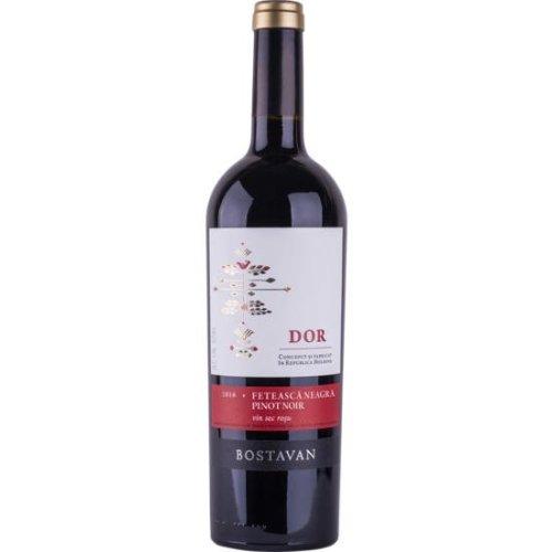 DOR Fetească Neagră & Pinot Noir - Rotwein Cuvée von Bostavan