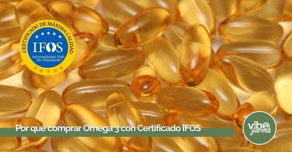 Omega 3 Sello IFOS
