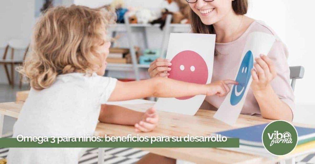 Omega 3 para niños nerviosos