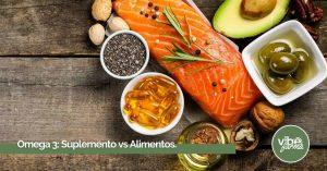 Suplementos de Omega 3 o alimentos