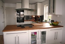 Kjøkken etter