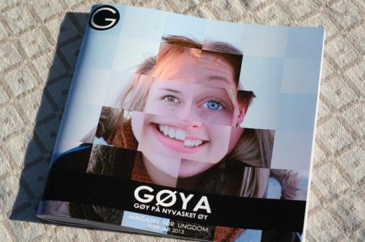 Det flotte magasinet til de flinke elevene mine!