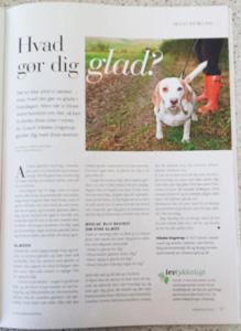 Om Vibeke ´| Min artikel i Månedsmagasinet Psykologi | Vibeke Ungstrup Clairvoyant & NLP Terapeut Hillerød