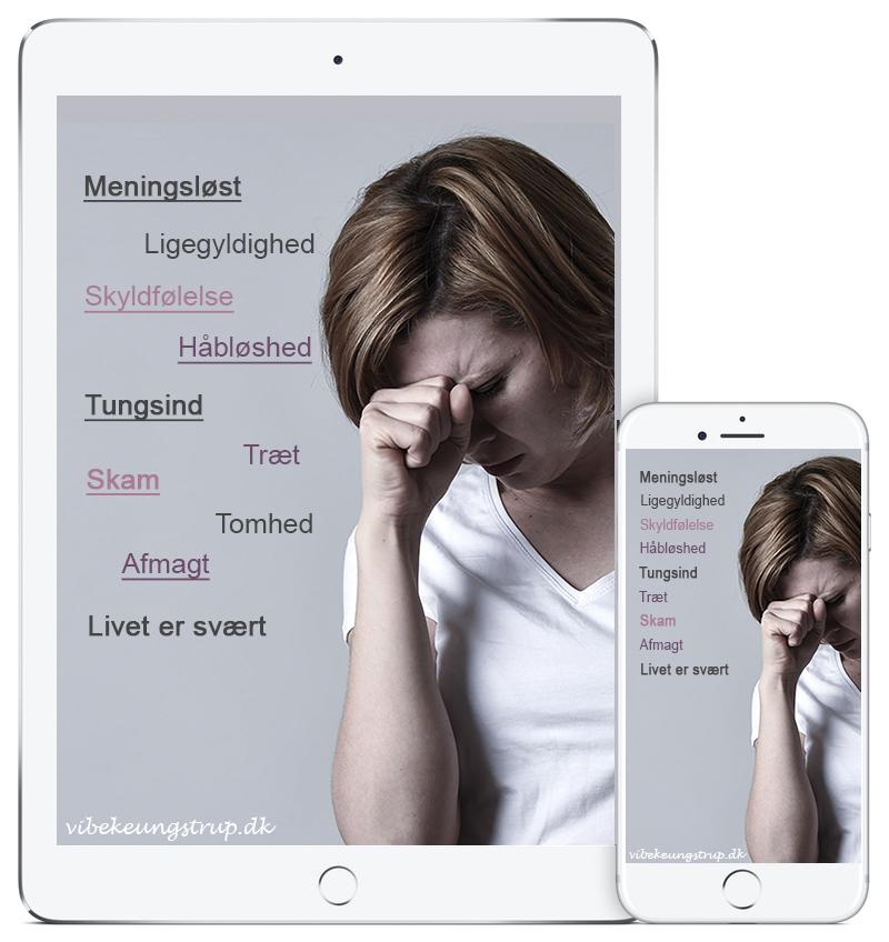 Online kursus ud af depression, Vibeke Ungstrup