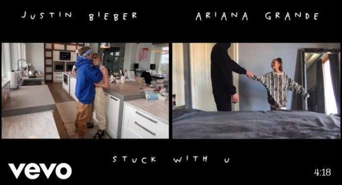 stuck with u - ariana grande ft Justin bieber
