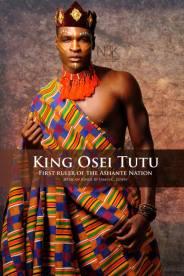 AFRICAN KING SERIES   Roi ou Asantehene (Roi d'Asante) Osei Tutu ( De 1650-1717) Osei Tutu est le fondateur et le premier souverain de la Nation d'ASANTE , un empire de l'Afrique de l'ouest aujourd'hui connu comme Ghana. Il a triple la taille geographic d'Asante et son royaume était une puissance significative qui dure pendant deux siècles. Model: Kellen Marcus   Photographe & Styliste: James C. Lewis   Wardrobe & Accessoires: Maye For Maryse Fashions and Accessories *All rights reserved*
