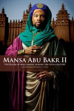 AFRICAN KING SERIES | Mansa Abu Bakr II ( aussi connu comme Mansa Abu Bakari II au environ du 14eme siècle ) était the neuvième Mansa ( Titre de souverain au Mali ) de l'Empire malienne le plus riche et large empire sur terre en ce moment, recouvrant presque tout l'Afrique de l'ouest. Il succède son neveu Mansa Mohammed Ibn Gao et précède Mansa Musa.Abu Bakr II semble avoir son trone (1311) dans l'intention d'explorer '' la limite de l'océan '' et a dit avoir mis cet exploit su pieds dans les années 181 avant Christophe Colomb.N'importe comment , son expédition n'est jamais retourne .Il est maintenant connu sous le nom du '' ROI VOYAGEUR '' | Model: Zaq Jackson | stylist & photographer: James C. Lewis