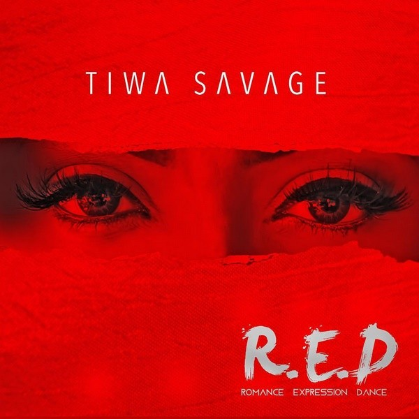 Tiwa Savage Unveils Cover Art For New Album, R.E.D