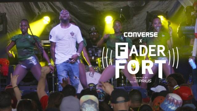 Watch Davido Perform 'Aye' LIVE @ Fader Fort