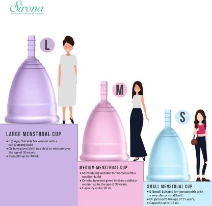 Menstrual Cup | Size Large (30ml)