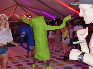Coachella Campground Activities tent