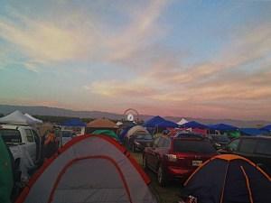 Coachella Car Camping Gazebos