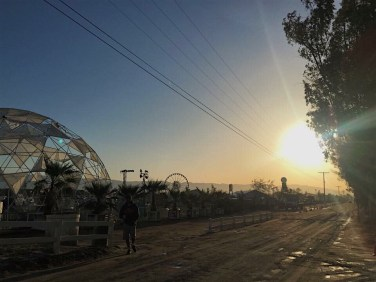 Coachella Campground Sunset