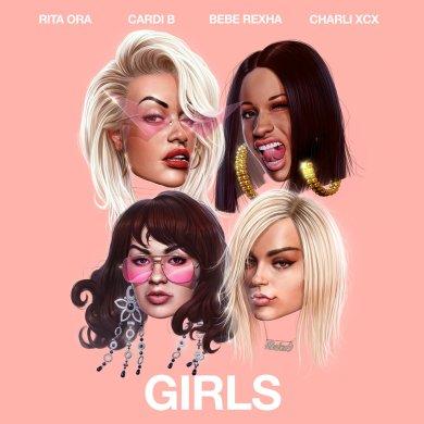 RitaOra-CharliXCX-CardiB-BebeRexha-Girls
