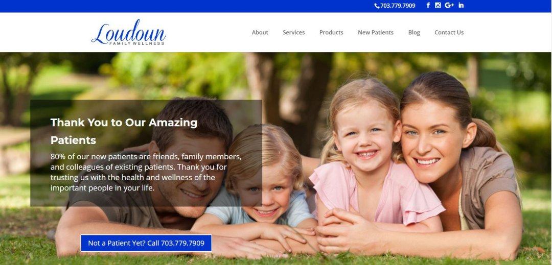Loudoun Family Wellness Home Page