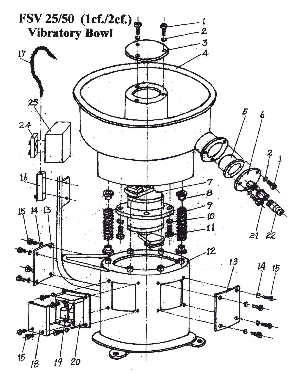 Vibrahone Fsv Series Parts List