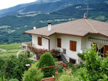 Another villa in Spiazzi, Italy, with the surrounding garden.