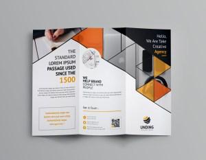 Alastor Corporate Tri-Fold Brochure Template