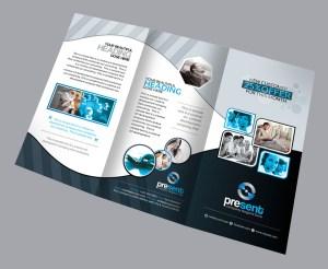 Fauna Corporate Creative Tri-fold Brochure