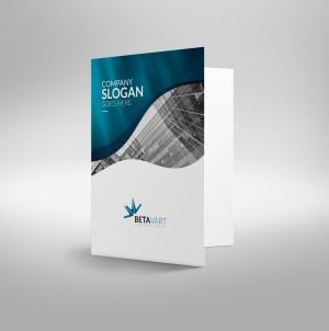 Halley Elegant Presentation Folder Template
