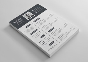 Kratos Elegant Professional Resume Template