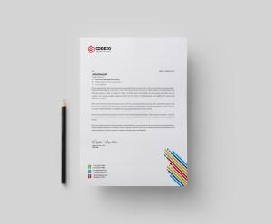 Palette Professional Letterhead Template