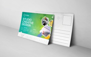 Modern Postcard Design